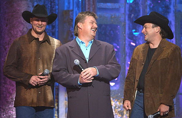 Tracy Lawrence, left, Joe Diffie, center, and Mark Chesnutt