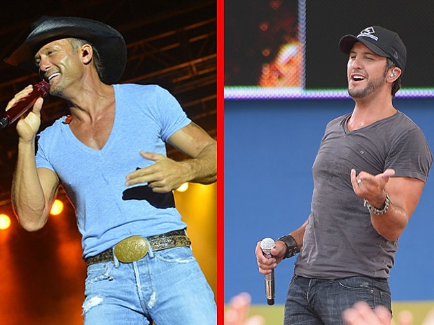 Tim McGraw vs Luke Bryan