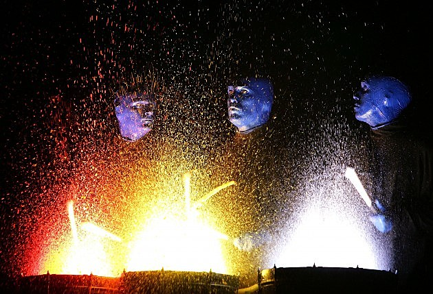 Blue Man Group Promote Tokyo Shows