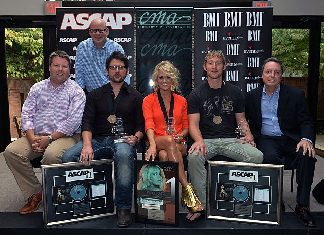 "BMI/ASCAP #1 Party For ""Good Girl"" Performed By Carrie Underwood"