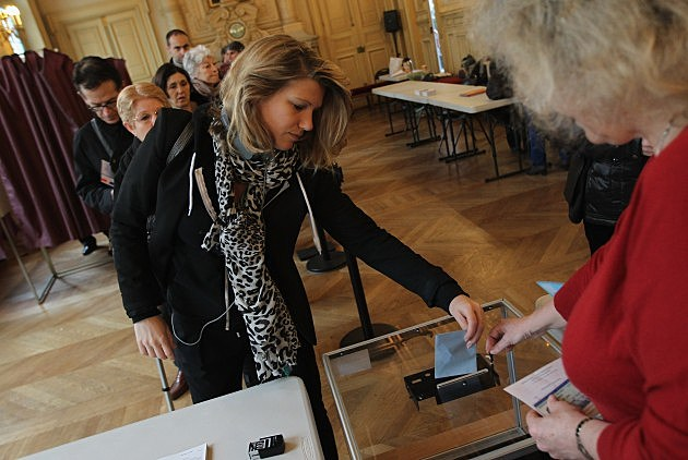 France Votes In Second Round Of Presidential Election