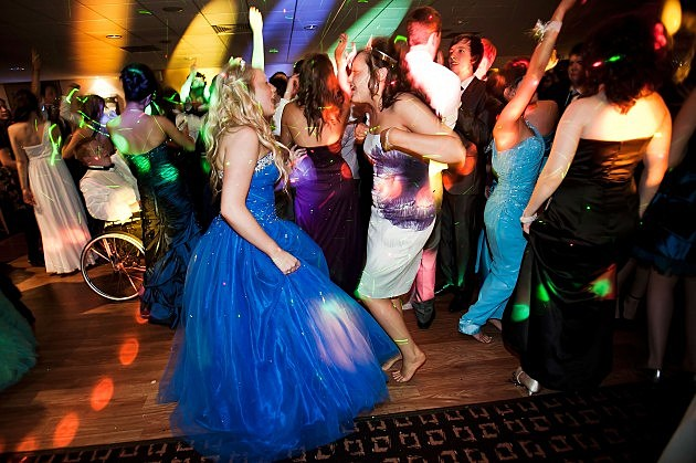 Students Participate in Prom