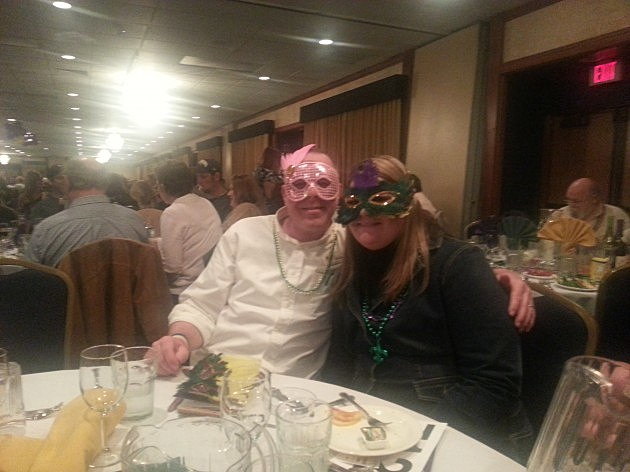 King and Queen of Mardi Gras Montana