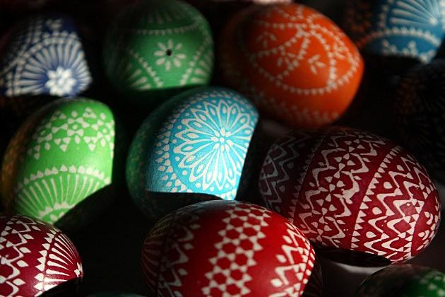 Sorbians Hold Annual Easter Egg Market