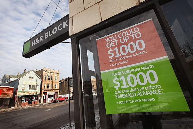H&R Block Loses Refund Anticipation Loan Banking Partner