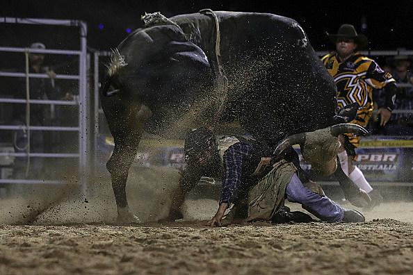 Julia Creek Dirt 'n' Dust PBR Bull Riding