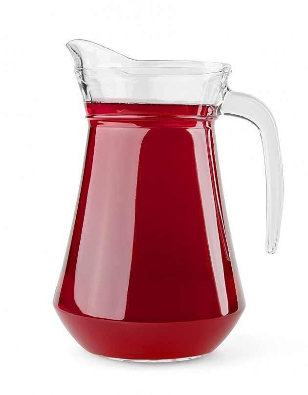 Pitcher of juice